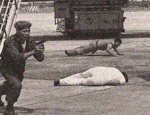 Benino Acquino assassination - the mayhem portion of the day.