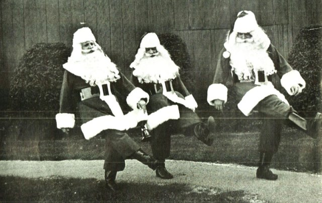 Gettin' all merry, like Christmas!