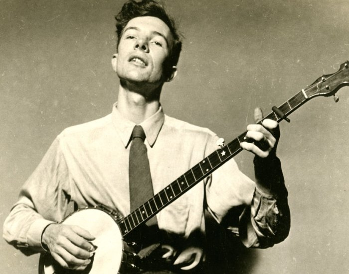 Pete Seeger (1919-2014) - left an indelible impression on America and the rest of the world.