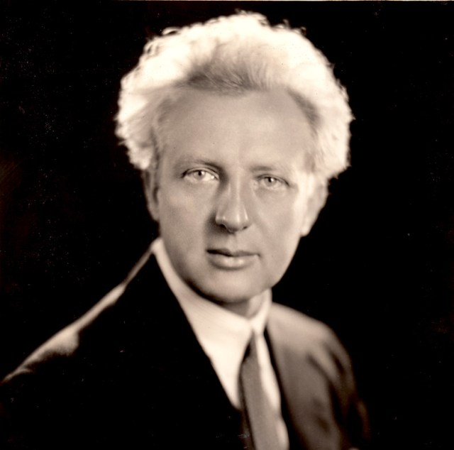 Leopold Stokowski - getting ready to embark on their second U.S. tour in 1937.