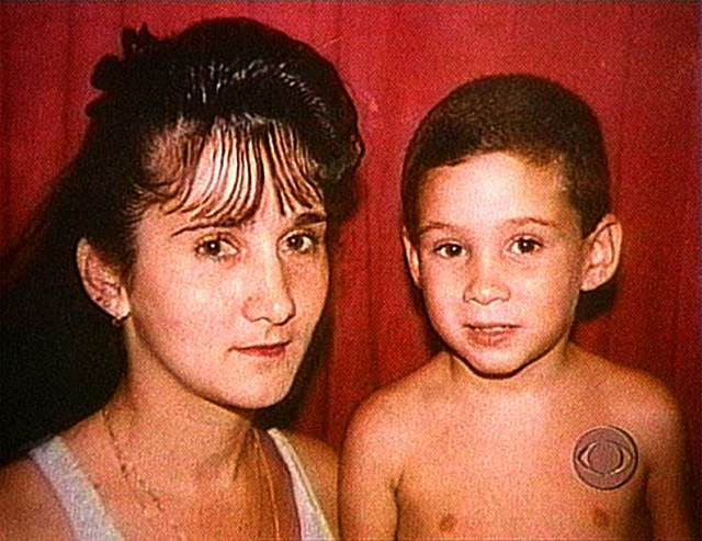 Elian Gonzalez and his mother - a very big storm around a very small teacup.