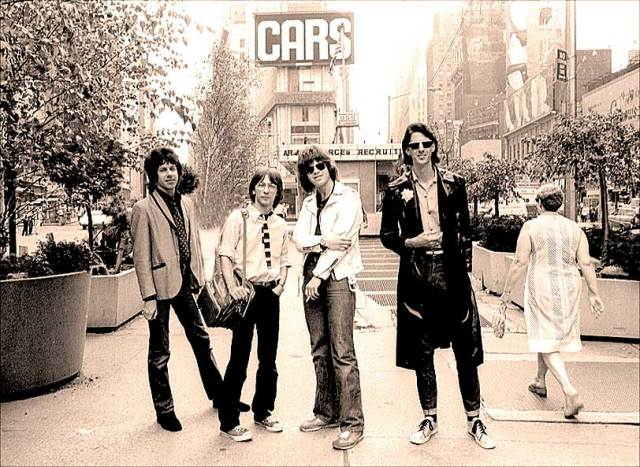 The Cars - at the right place, at the right time.