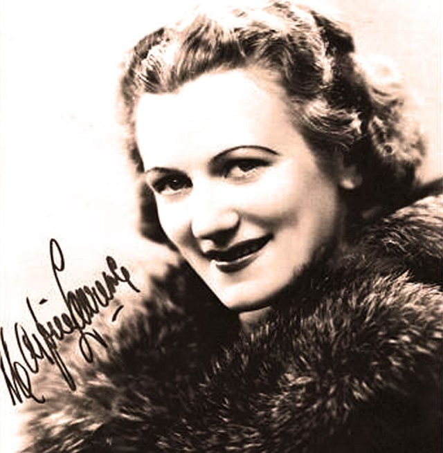 Marjorie Lawrence - One of the bright lights of the Opera Stage in the 1930s.