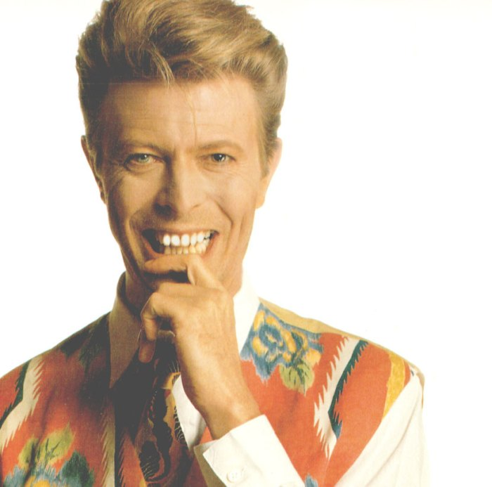 . . .and a few words from the Thin White Duke this weekend.