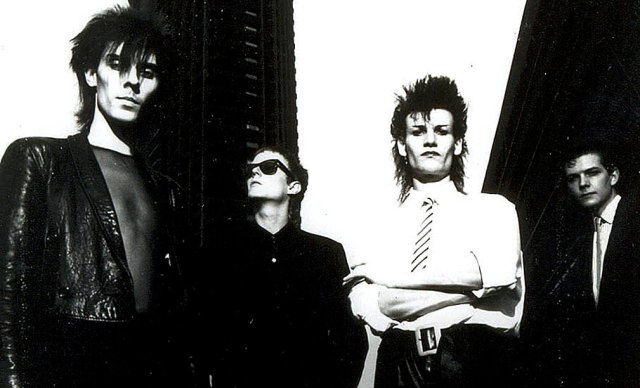 Bauhaus - generally considered to be the first Goth group.