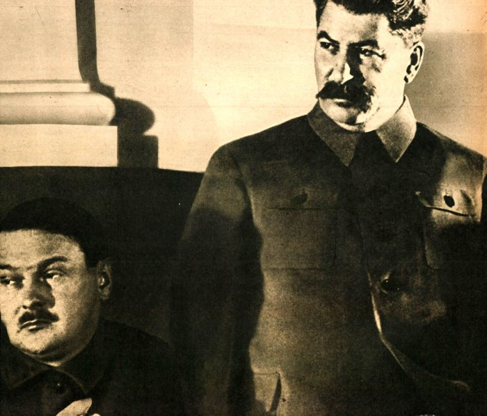 Stalin - feared by just about everyone, including himself.