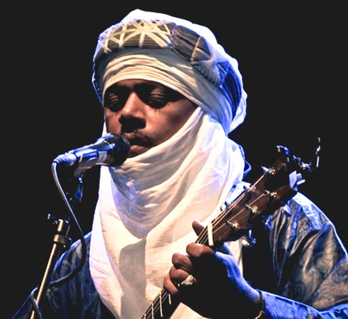Tinariwen - Desert Blues - as heady and intoxicating as a sun-scorched breeze.