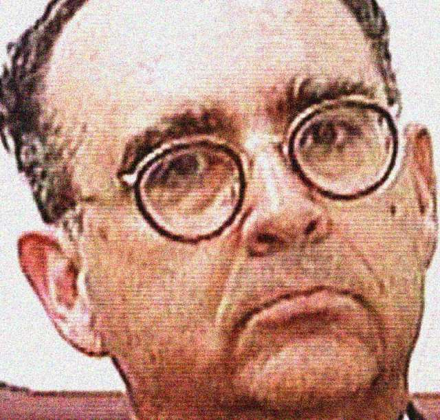 Convicted spy Mariano Faget - The jury gave a thumbs down.