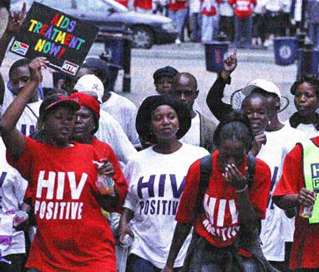 It was estimated half of all 15 year-olds in Africa would be infected by AIDS.