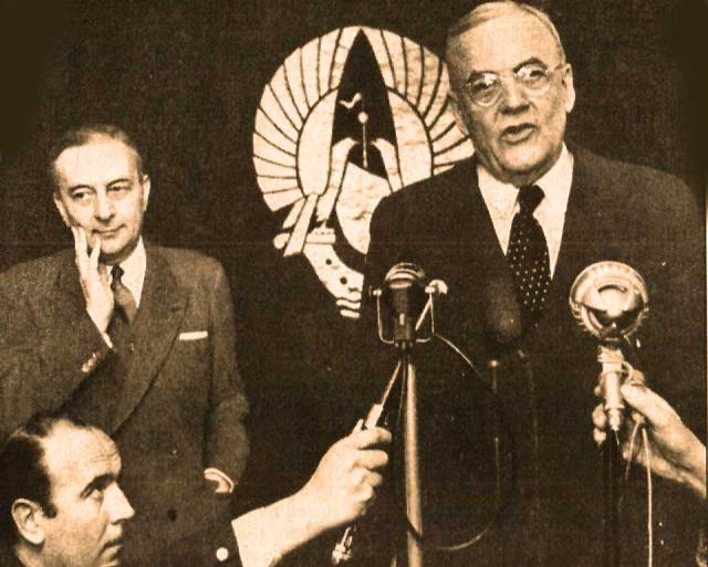 John Foster Dulles - The face of Eisenhower's State Department.