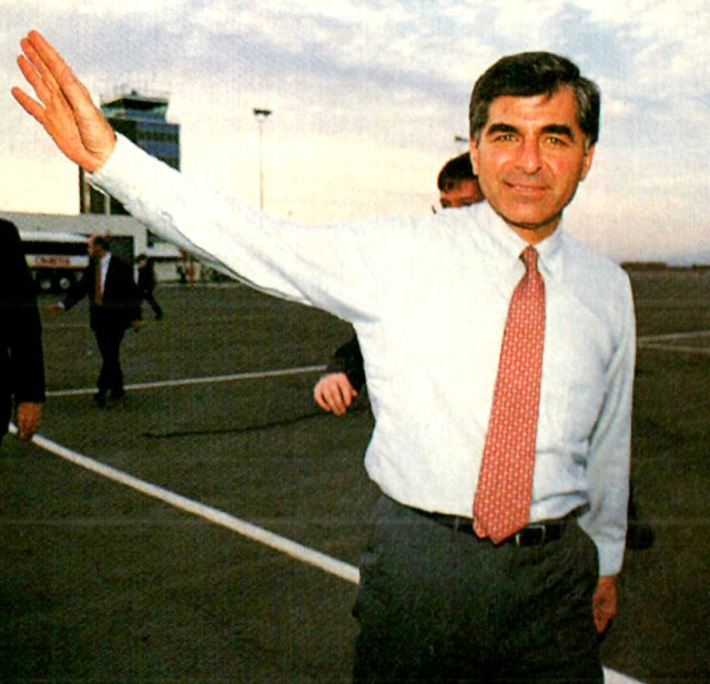 Michael Dukakis - the nomination was in the bag.