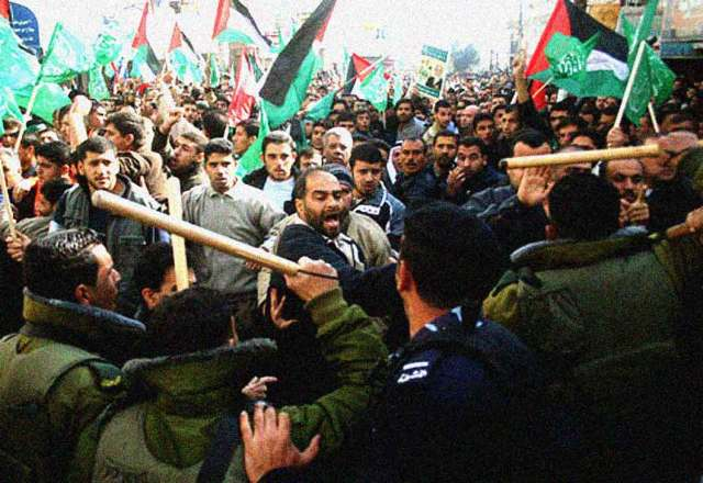 Hamas-Fatah clashes in Gaza 2006. Preview of a bigger coming attraction.
