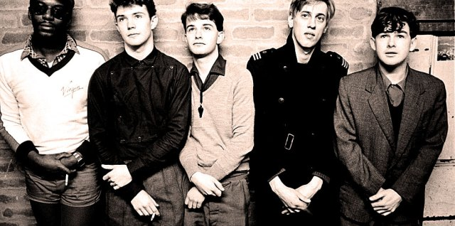 A Certain Ratio - once described as 'having all the energy of Joy Division, but with better clothes'.