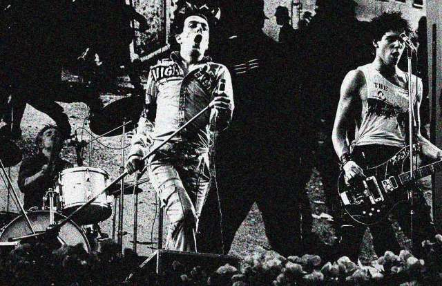 The Clash - early on, unstoppable.