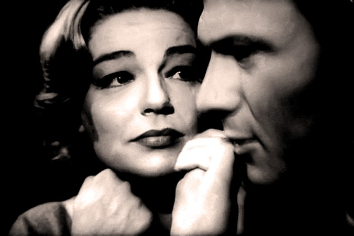 Simone Signoret w/Laurence Harvey in Room At The Top - two icons in a Tour de Force.