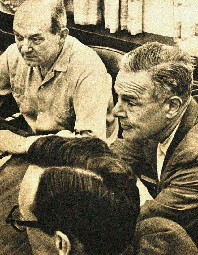 Dean Rusk w/future Ambassador to Vietnam Henry Cabot Lodge.