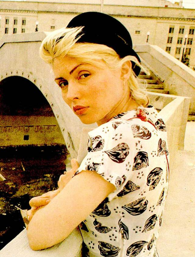 Blondie's Debbie Harry - Part of that magnificent Soup of the 70s.