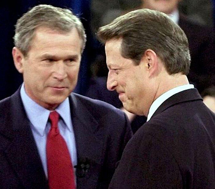 The Bush-Gore Debates - yawning was an option.