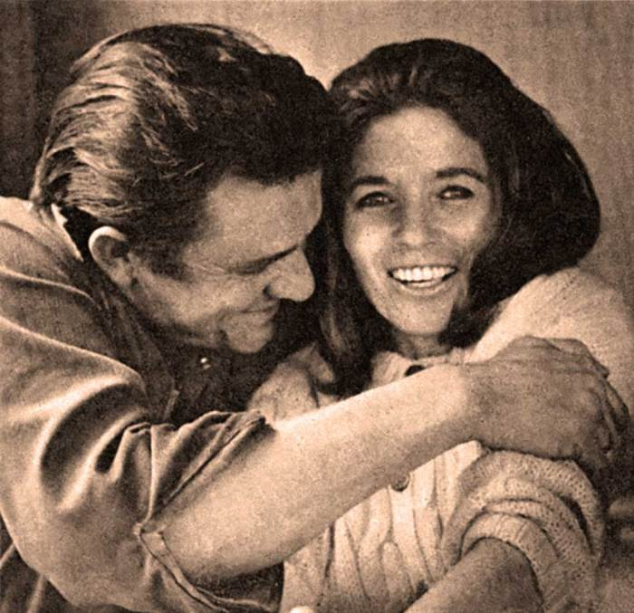 Johnny Cash and June Carter -  back to the irreplaceable basics.