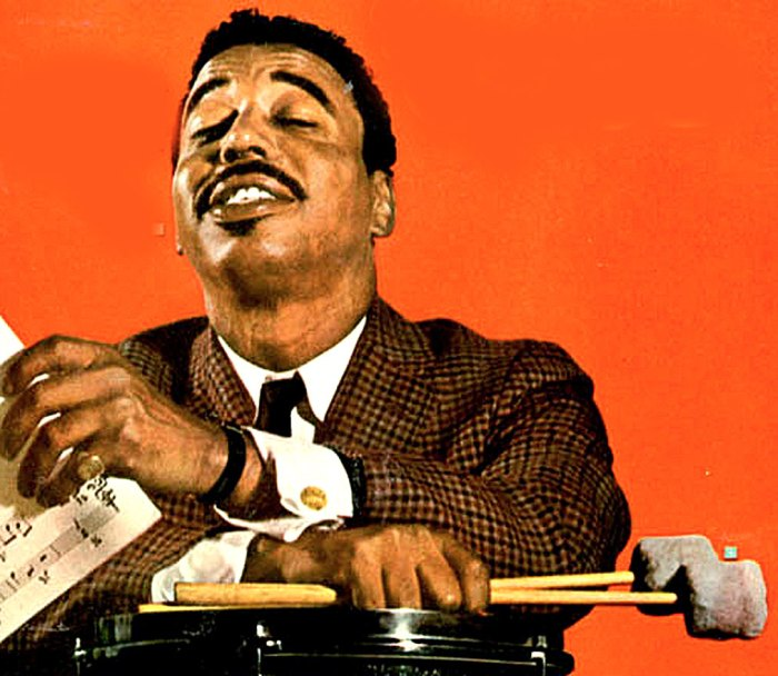 Chico Hamilton - mixing up the lovely stew.