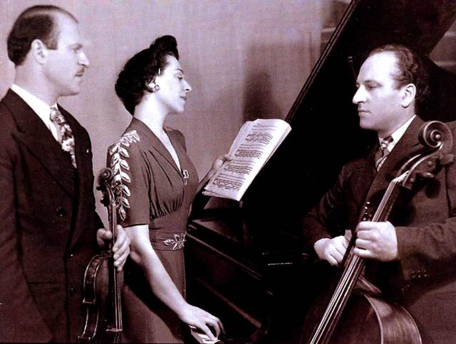 The Compinsky Trio - strived to expose the audience to new music. It helped that they owned a record company.