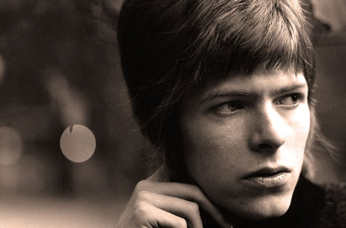 David Bowie in 1967 - Who could know what was just around the corner?
