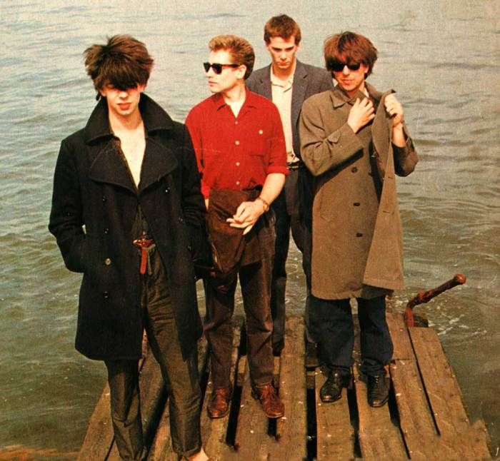 Echo & the Bunnymen (in 1981) At the dawn of new-Psych.
