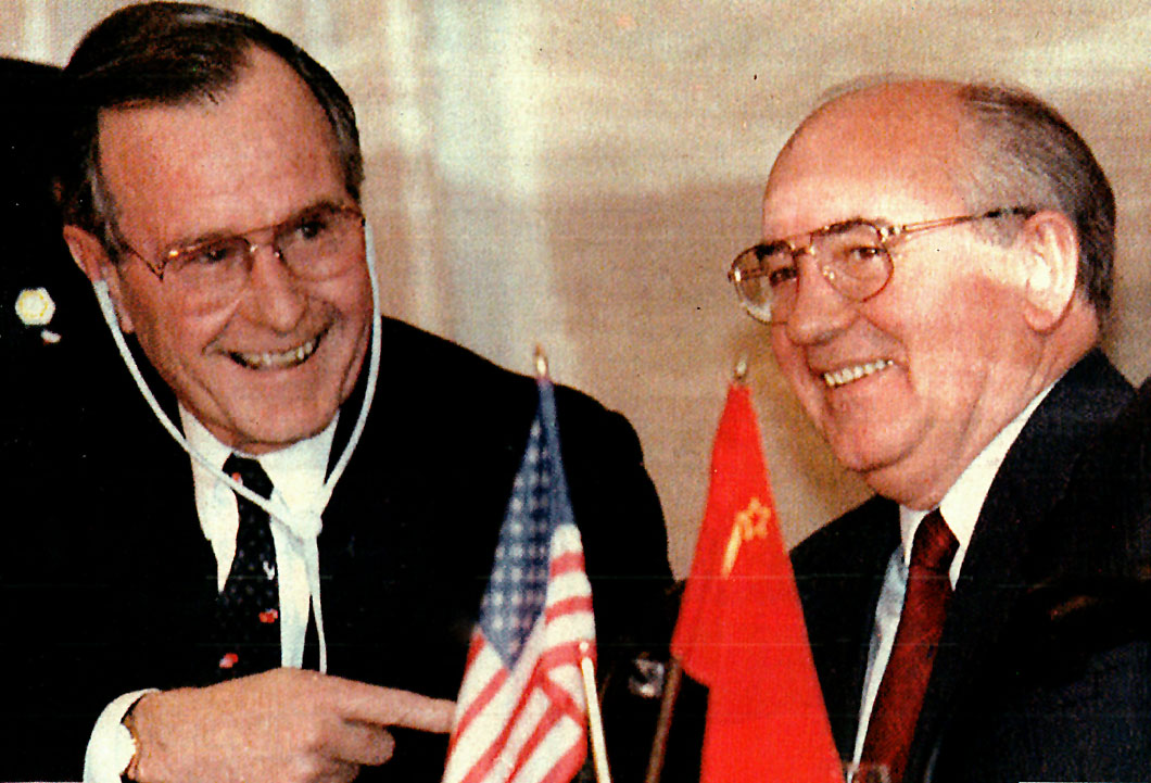 December 2, 1989 - The Seasick Summit - Bush And Gorbachev At Malta - Past Daily: News, History, Music And An Enormous Sound Archive.
