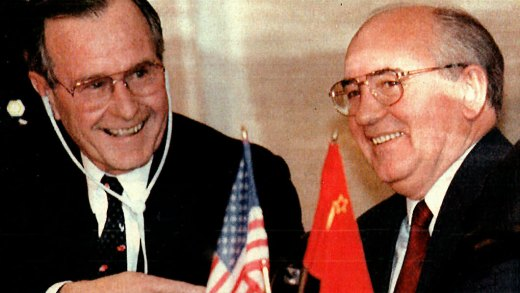 December 2, 1989 – The Seasick Summit – Bush And Gorbachev At Malta –