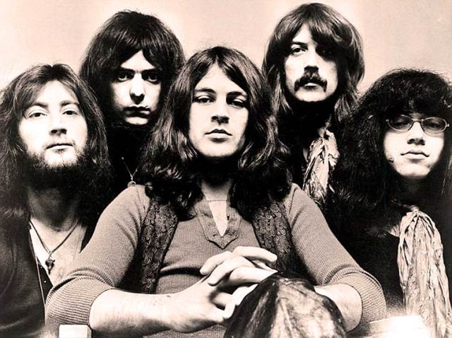 Deep Purple - an ode to some mid-week head-banging.