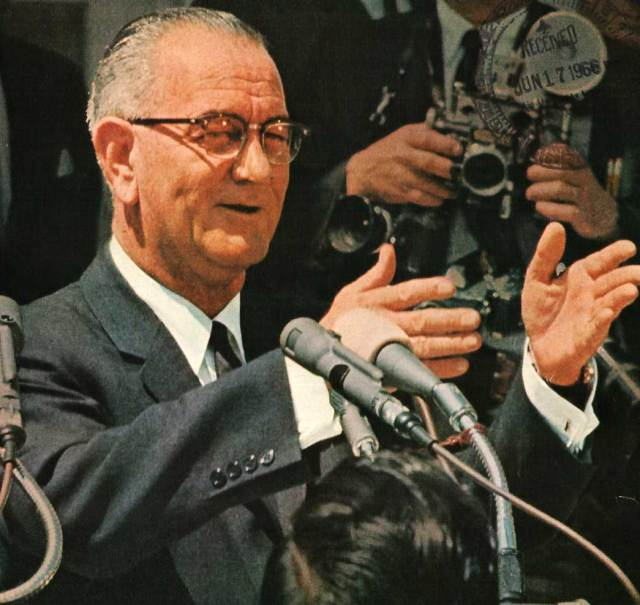 LBJ - The Great Society and the Quality Of American life in 1965.
