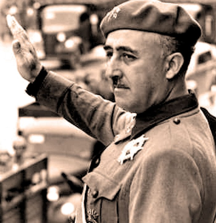 Generalissimo Francisco Franco - in the grande scheme of things, it was either Washington or Moscow.