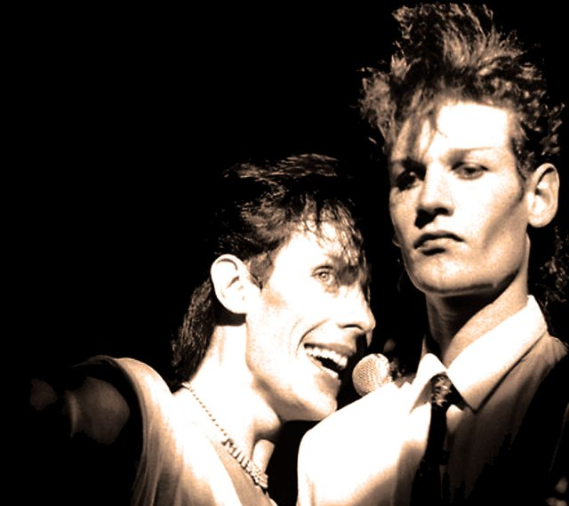 Bauhaus - Historic evidence points to them as the First Goth Band.