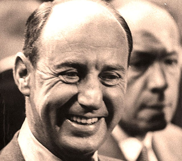 Adlai Stevenson  - a simple eloquence for complex times.