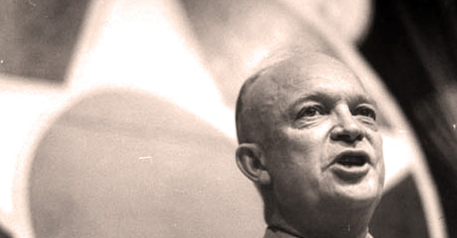 Eisenhower had a few things to say about our Defense budget - even in 1954.