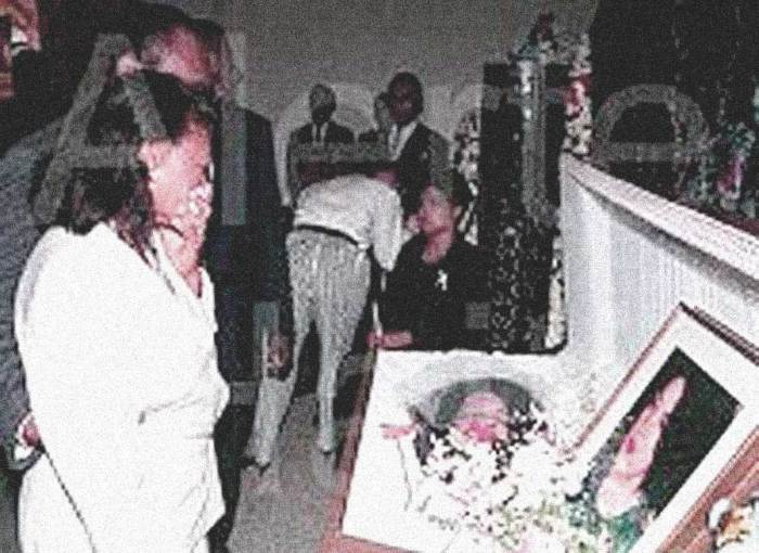 Mireille Durocher Bertin funeral - a lot more knew than would let on.