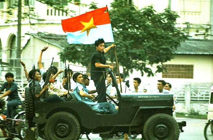 And suddenly, 35 years of war was over. (photo: Corbis)