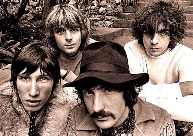 Pink Floyd (with Syd Barrett) - little did anyone know at the time . . . .