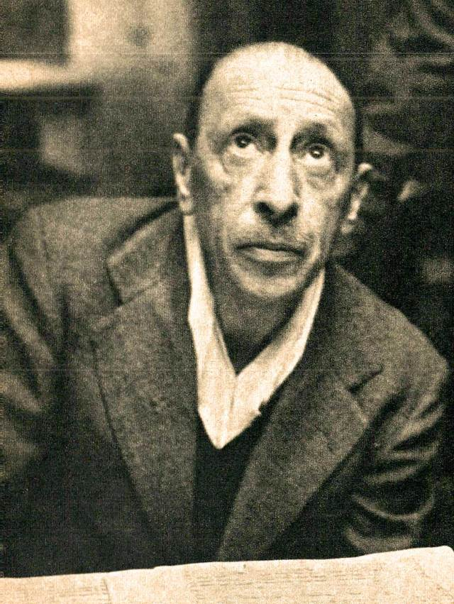 Igor Stravinsky - dedicated his Symphony In 3 Movements to the N.Y. Phil.