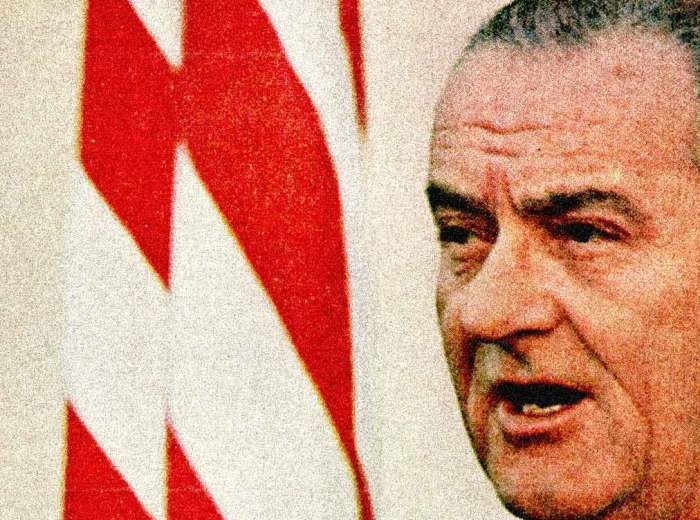LBJ - Making the sales pitch for stepped-up Bombings.