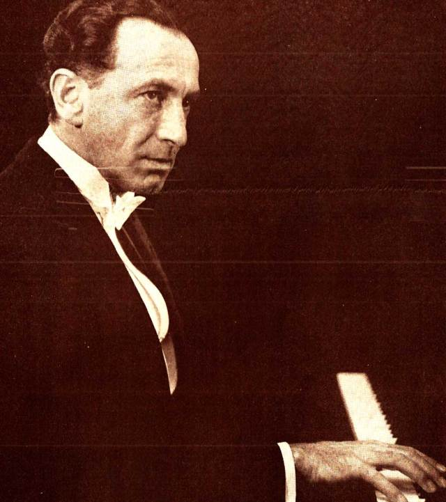 Celebrated Pianist Gyory Sandor - Bartok was his forté.