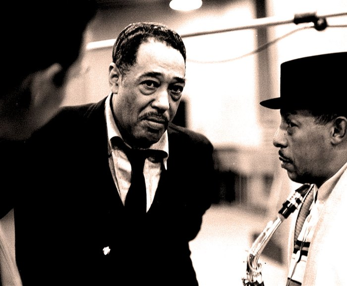 "Duke Ellington -  rightly placed ""beyond category""."