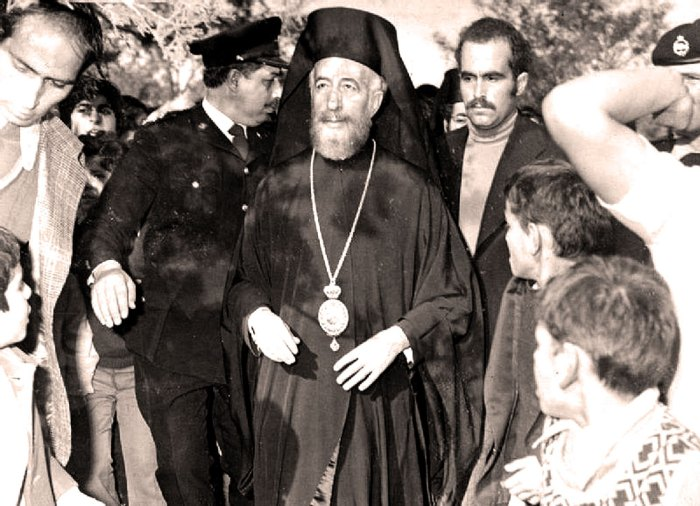 Archbishop Makarios of Cyrpus - first they reported he was dead - and then he came on the radio to say he wasn't.