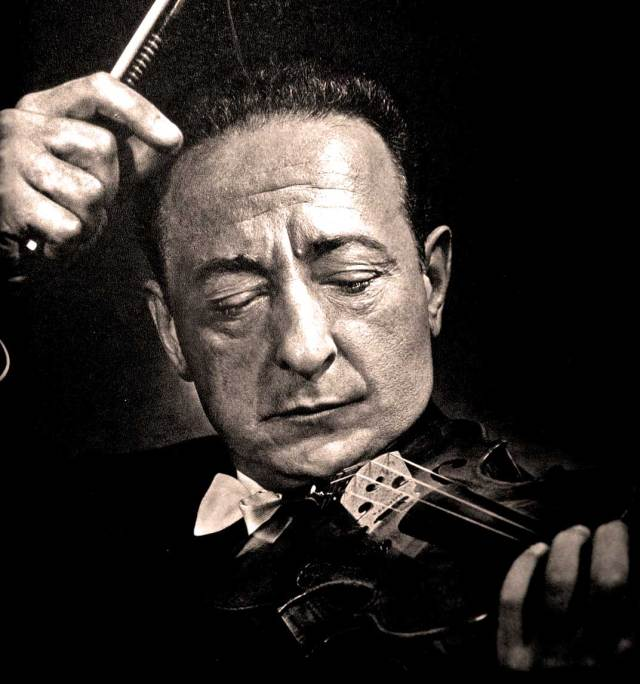 Jascha Heifetz - And who better to christen the place?