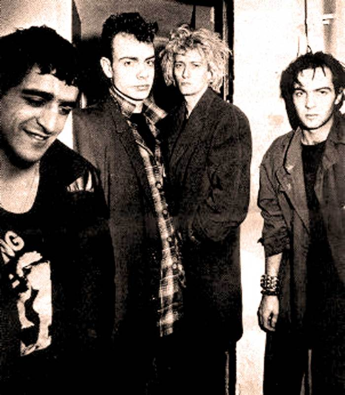 """Killing Joke  - """"quasi-metal, dancing to a tune of doom and gloom"""" - so said the press. The Audience ate it up."""