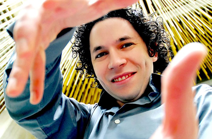 Gustavo Dudamel - the perennial breath of fresh air.