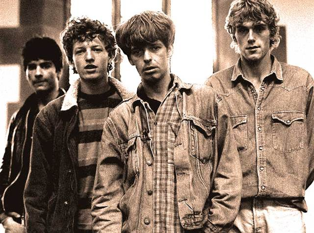 The La's - certainly upbeat enough.