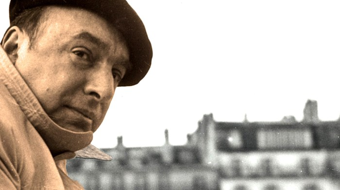 Pablo Neruda - Poet-Diplomat- winner of Nobel Prize in 1971.