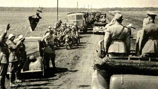October 26, 1941 – The German Drive To Moscow – Eye On The Middle-East – Labor Troubles At Home.
