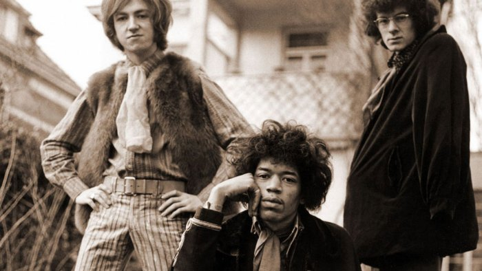 Jimi Hendrix w/Noel Redding and Mitch Mitchell - 1967 was an astonishing year for music.